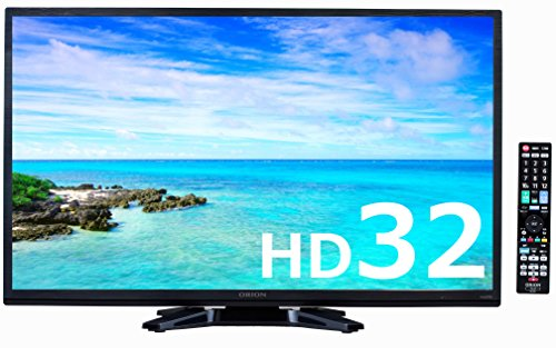 オリオン 32V型 ハイビジョン液晶テレビ 外付けHDD録画対応 ブルーライトガード搭載 ヘアラインブラック BN-32DT10H