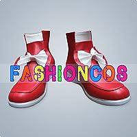 ★サイズ選択可★女性22CM UB072 東方Project 東方永夜抄 藤原妹紅 コスプレ靴 ブーツ