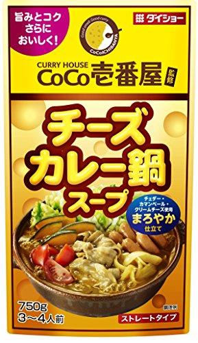 ダイショー CoCo壱番屋 チーズカレー鍋スープR17 750g [2080]