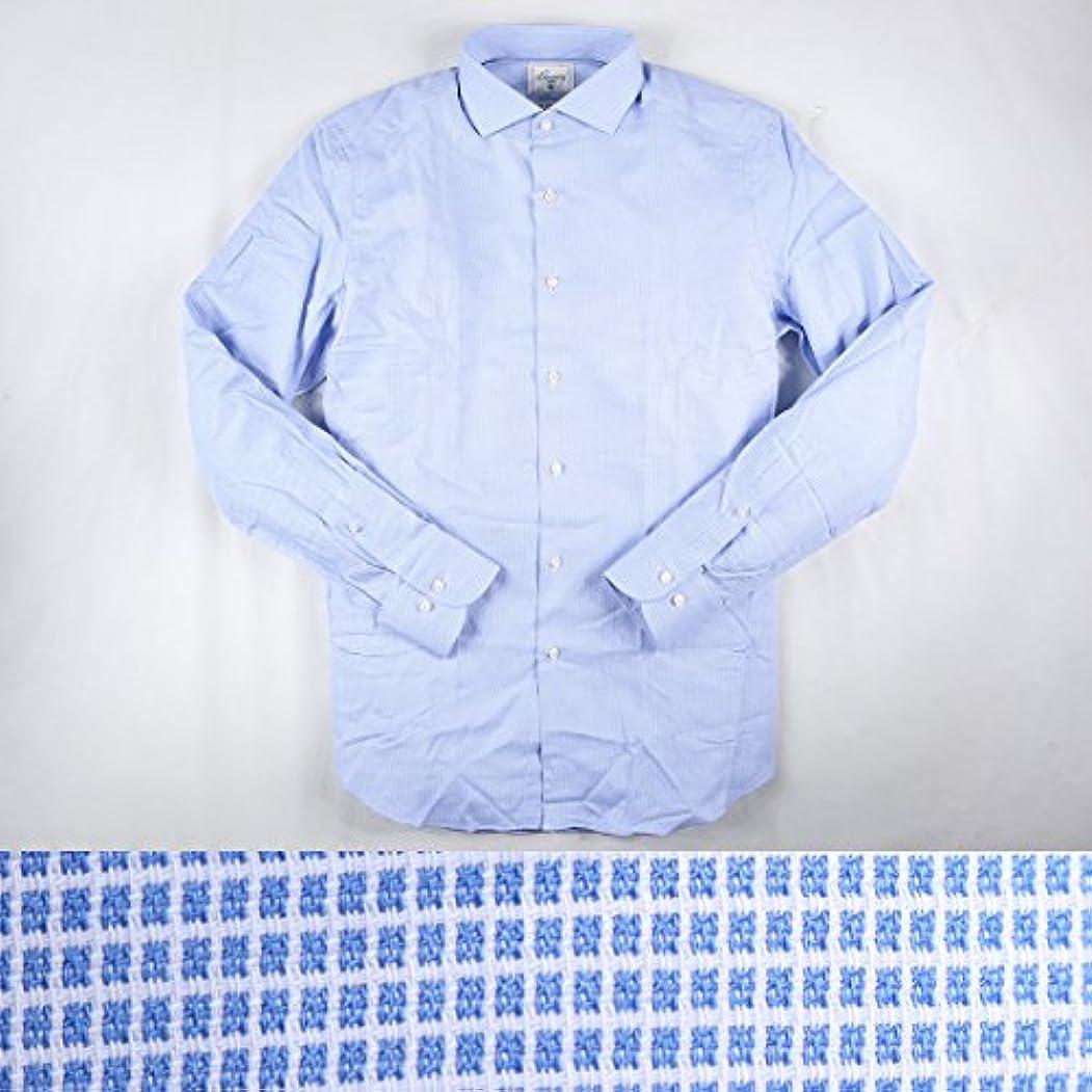 価格カウンターパートコンテンポラリーLuxury1939 長袖シャツ B153L04301 slim fit blue 40【A13162】 ラグジュアリー1939 [並行輸入品]