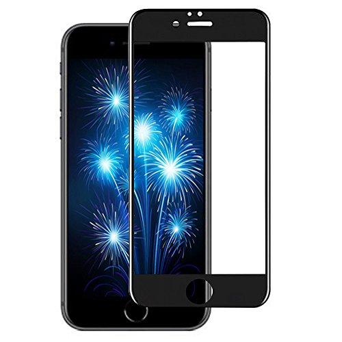 iPhone8 ガラスフィルム,ABBOBI【3D全面保護X世界最強のゴリラガラス】アメリカ製 Gorilla Glass使用 iPhone 8用 強化ガラス 液晶保護フィルム 高透過率99.9%/超薄0.26mm /3D Touch対応 / 硬度9H / 飛散防止(iPhone8 ブラック)