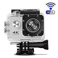 水中カメラ デジタル アクションカメラ SJ60 防水 4K Wifi機能搭載 HD画質 1080P Ultra