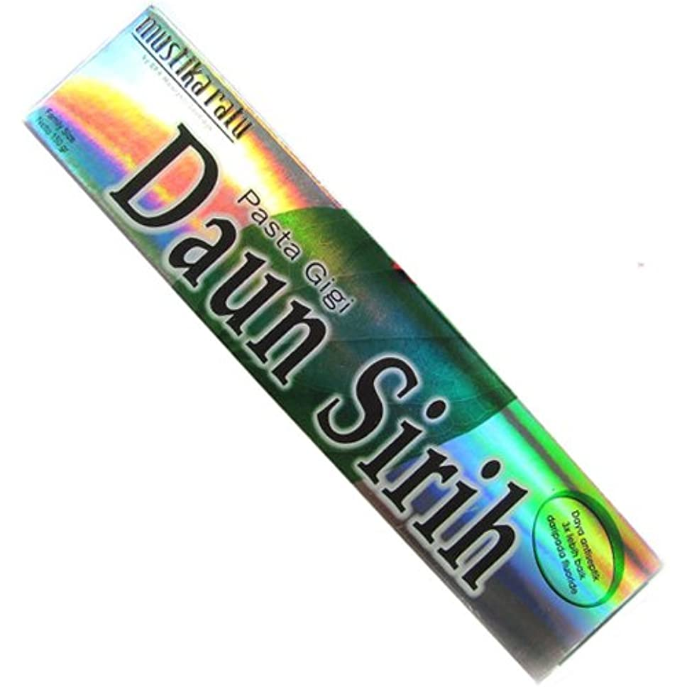 瞑想的複製塊ムスティカラトゥ?Daun sirih(ダウンシリ)歯磨き粉150g[並行輸入品][海外直送品]