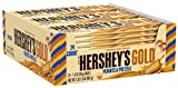 HERSHEY'S GOLD Caramelized Creme Peanuts & Pretzels Bars ×24袋 [並行輸入品]