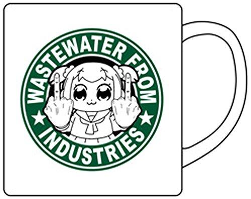 ポプテピピック 工業廃水 マグカップ