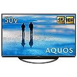 シャープ AQUOS 50V型 4K液晶テレビ 新4K衛星放送チューナー内蔵 4T-C50AN1