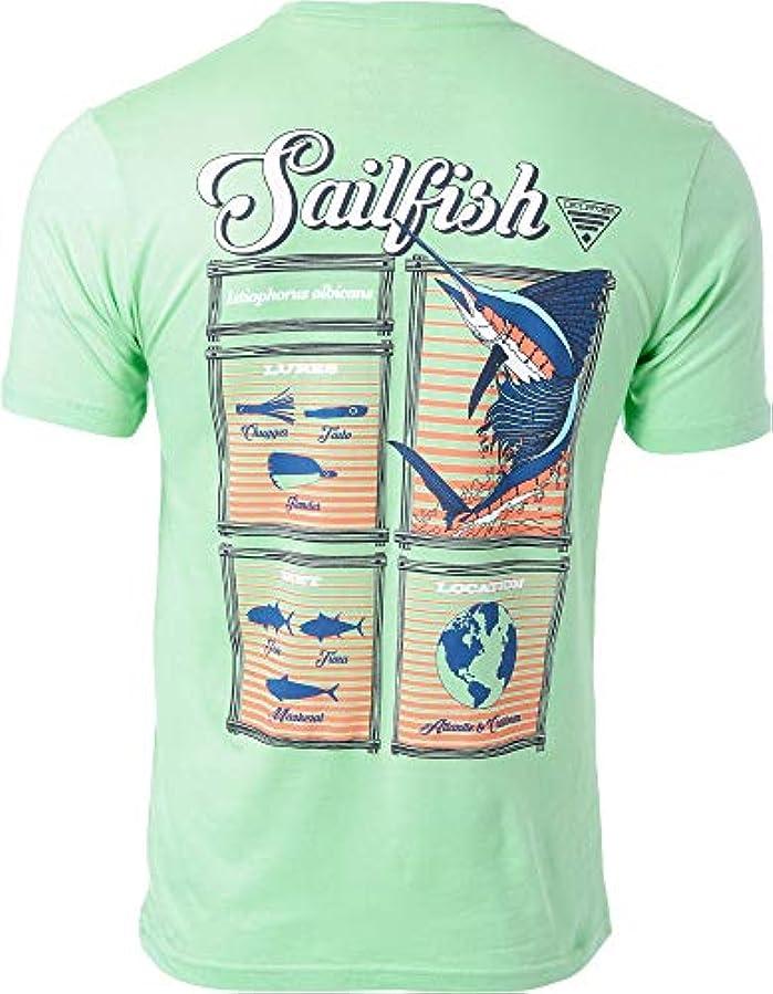 邪魔レギュラー掃く[コロンビア] メンズ シャツ Columbia Men's PFG Sailfish Driftwood Sh [並行輸入品]
