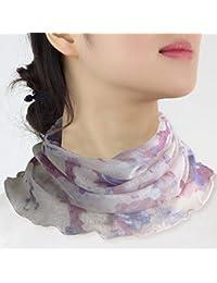 (ケイミ)KEIMIネックカバー uv ネックウォーマー シルク 冷え取り 日焼け 紫外線対策 グッズ