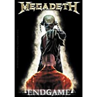 Licences Products Megadeth Endgame Sticker, 8.9cm x 10cm