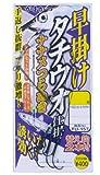 がまかつ(Gamakatsu) 早掛ケタチウオ仕掛ナナメツラヌキ TU157 5-47(ワイヤー#47)