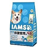 箱売り アイムス 成犬用 体重管理用 チキン 中粒 2.6kg お買い得4袋入り