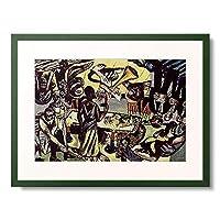 マックス・ベックマン 「Tod. 1938.」 額装アート作品