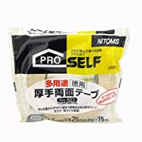 ニトムズ 多用途厚手両面テープ徳用 No.523 25mm×15m J0070