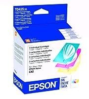 Epson DURABriteインクジェットカートリッジ色マルチパック(1シアン、マゼンタ1, 1イエロー) (t042520) 1 - Pack