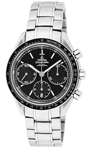 [オメガ]OMEGA 腕時計 スピードマスター ブラック文字...