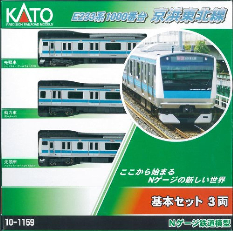 「E233系キャンペーン 行先表示シール付」 Nゲージ 10-1159 E233系1000番台京浜東北線 基本セット (3両)