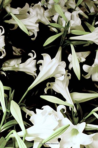 Journal Flowers Pretty White Lilies