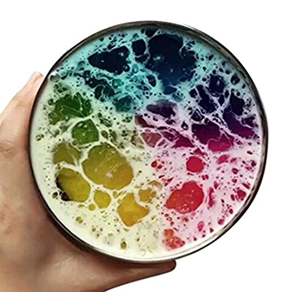 Liebeye クリスタルのような泥 多色クリスタルのような泥クリエイティブマジックプラチンストレスリリーフおもちゃギフト 100ミリリットル さまざまな色