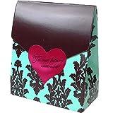 バレンタイン義理 チョコ ブルーボックス 美味しい国産チョコ 生チョコ仕立てで口どけまろやか バレンタイン チョコレート 業務用 バレ..