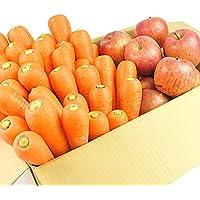 無農薬にんじん野菜セット(無農薬にんじん3kg+りんご1kg)