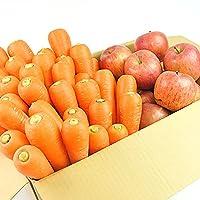 無農薬にんじん野菜セット(無農薬にんじん3kg+りんご2kg)