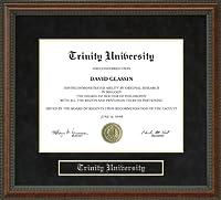 Trinity大学卒業証書フレーム tx-tu-91-burl