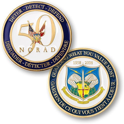 NORAD 50th Anniversary Coin by Northwest Territorial Mint [並行輸入品]
