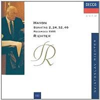 Haydn: Sonatas 2,24,32, & 46