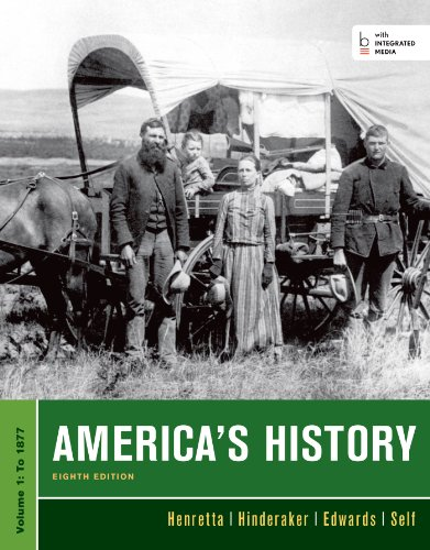 Download America's History: To 1877 1457628163