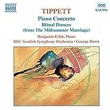 Piano Concerto  Michael Tippett, George Hurst, BBC Scottish Symphony Orchestra, Benjamin Frith (Naxos)