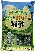 常陸化工 お茶とおからの猫砂 6L