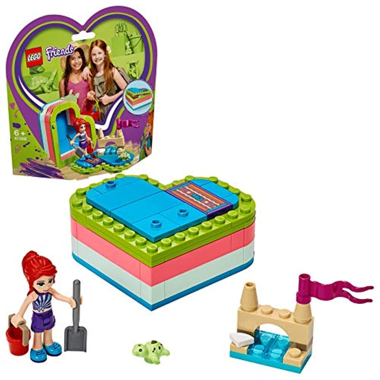 レゴ(LEGO) フレンズ ハートの小物入れ ミアのビーチバカンス 41388 ブロック おもちゃ 女の子