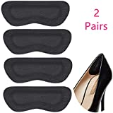 New Leather Heel Protection Paster of Shoes Rubbing Heel Grip 2pc