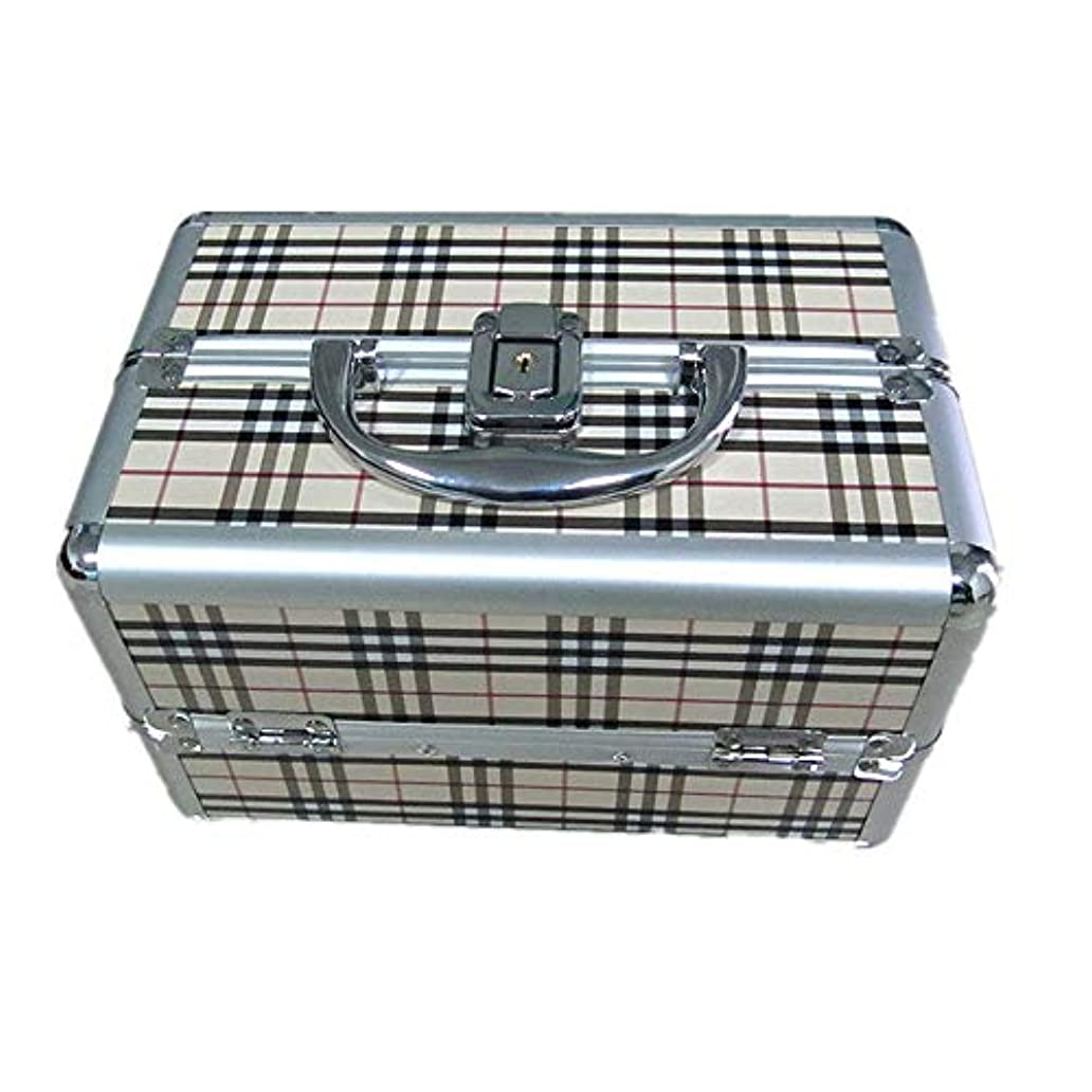 誰の地殻リアル化粧オーガナイザーバッグ 大容量ポータブル化粧ケース(トラベルアクセサリー用)シャンプーボディウォッシュパーソナルアイテム収納トレイ(エクステンショントレイ付) 化粧品ケース