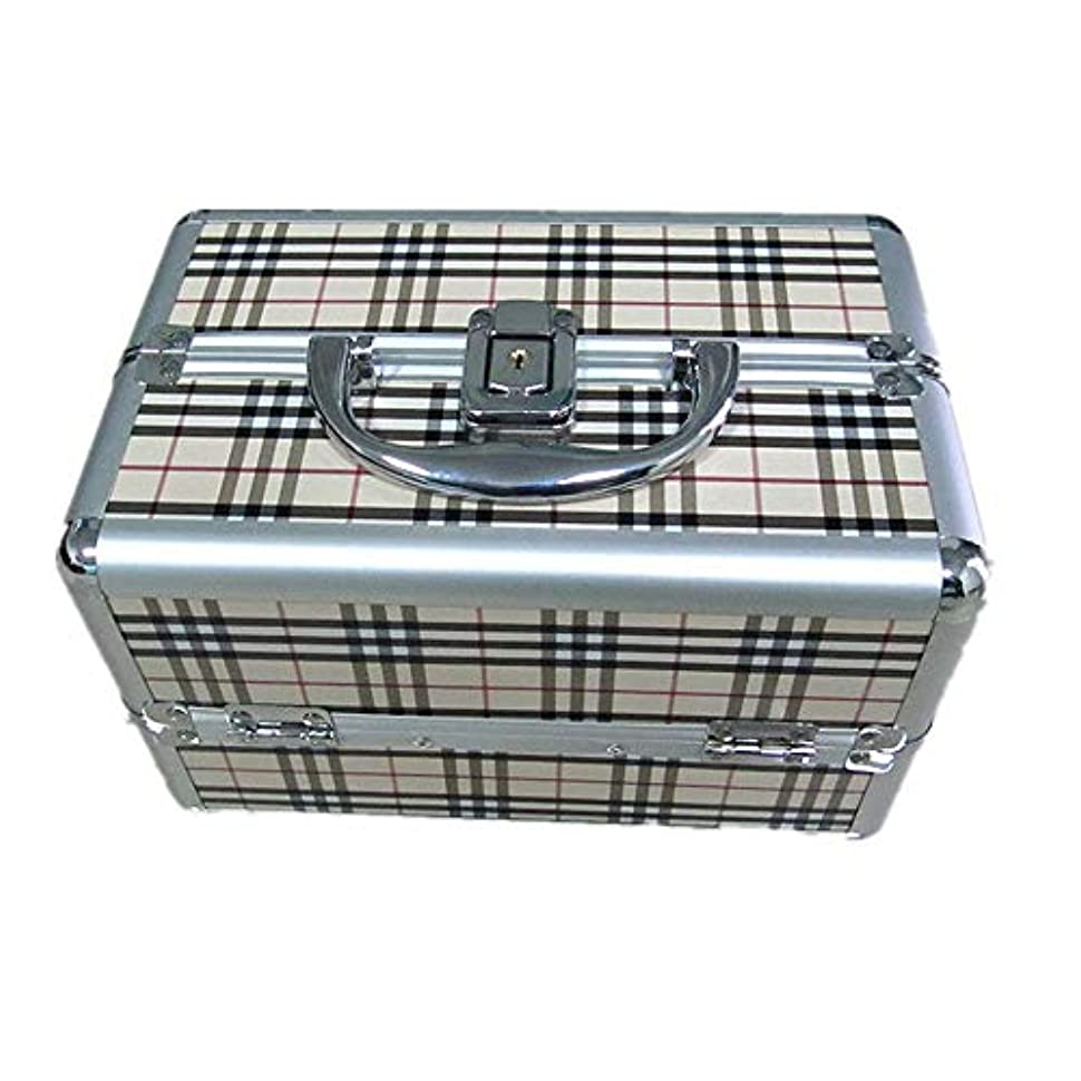 エリートパラダイス故意の化粧オーガナイザーバッグ 大容量ポータブル化粧ケース(トラベルアクセサリー用)シャンプーボディウォッシュパーソナルアイテム収納トレイ(エクステンショントレイ付) 化粧品ケース