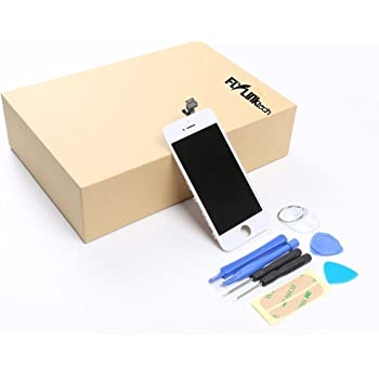 Flylinktech iPhone6 修理用フロントパネルセット 修理工具付属 (ホワイト)