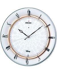 SEIKO CLOCK(セイコークロック) ディズニーMickey&Minnie電波掛時計(白) FS501W