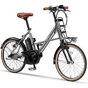 YAMAHA(ヤマハ) 電動アシスト自転車 2017年モデル PAS シティX 20インチ [高容量12.3Ahバッテリー,液晶5ファンクションメーター搭載] PA20CGX7J メタル