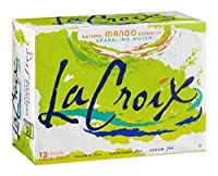 Lacroix、Sprklng Wtr、マンゴー、Can、2パック、サイズ–12/ 12FZ、数量–1ケース