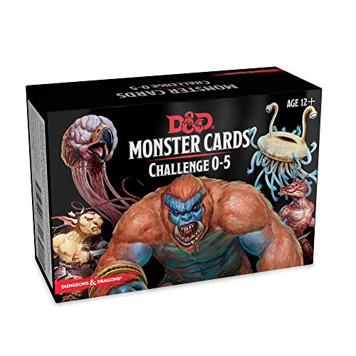 [画像:Dungeons & Dragons - Monster Deck 0-5 (179 cards)]