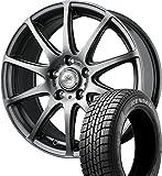 (2017年製)スタッドレスタイヤ・ホイール 1本セット 16インチ GOODYEAR(グッドイヤー) ICE NAVI(アイスナビ)6  215/65R16 98Q + ロクサーニスポーツ