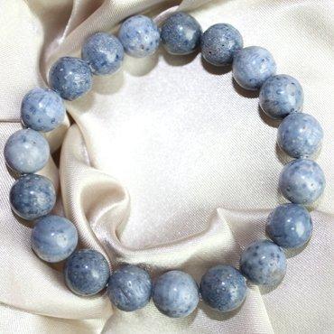 【藍山珊瑚(コーラル) ブレスレット 10mm】幸運 お守り 家族円満 子宝 パワーストーン 天然石 ブレスレット