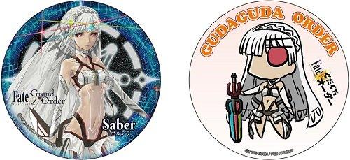 Fate/Grand Order セイバー/アルテラ 缶バッジセット第3弾K