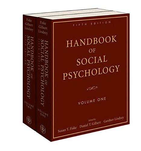 Handbook of Social Psychology, 2 Volume Set