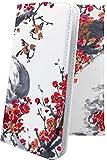 GS03 / GS02 ケース 手帳型 水彩 水彩画 水墨画 すずめ 梅 和 和風 和柄 日本 japan ジーエス 手帳型ケース 風景 GS 03 02 gs3 gs2 水彩