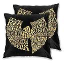 HIP HOP Music Style Poster の高級スタイルポスター 20年 Wu Tang クッションカバー 抱き枕カバー まくらカバー 座布団カバー 2枚セット ファスナー式 寝装 寝具小物 ソファー オフィス 車 インテリア 部屋 柔軟 おしゃれ 中身なし