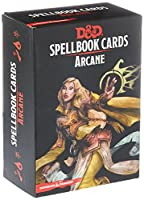 Dungeons & Dragons: Spell Book Cards: Arcane Deck Card Game (8 Players)