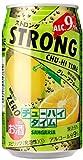 日本サンガリア ストロングチューハイタイム ゼログレープフルーツ 缶 350ml×24本