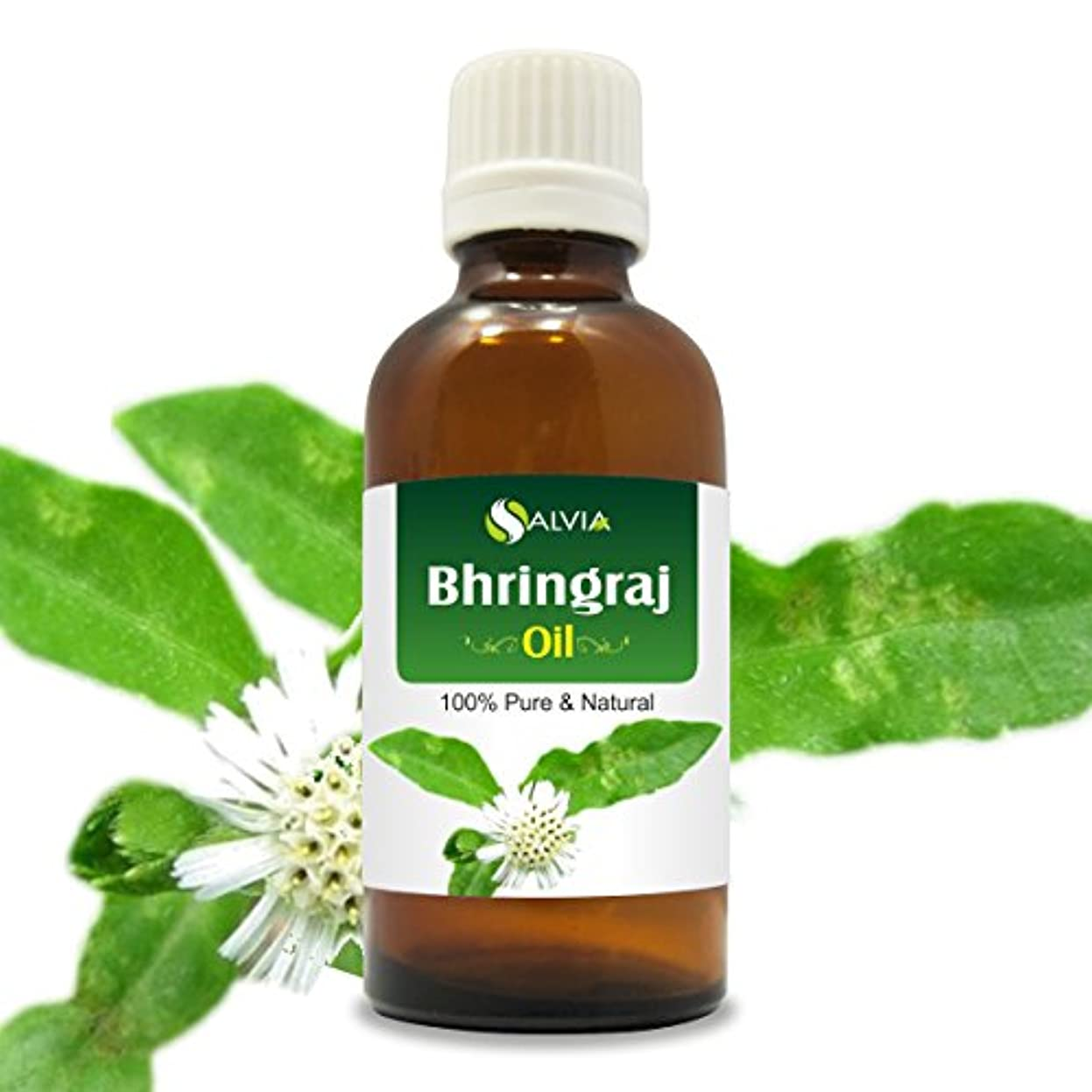 中にフリースだらしないBHRINGRAJ OIL 100% NATURAL PURE UNDILUTED UNCUT OIL 30ML