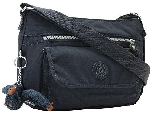 (キプリング) KIPLING バッグ BAG SYRO 斜めがけショルダー バッグ ナイロン k13163 ブランド (True Blue) [並行輸入品]